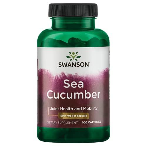 Swanson Sea Cucumber 500 Milligrams 100 Capsules
