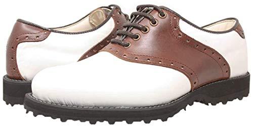 PORTMANN Saddle Classic - Zapatos de Golf Para Hombre Pure...