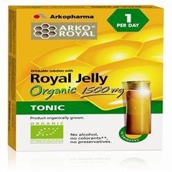 Organic Royal Jelly 10 Vials by Arkopharma