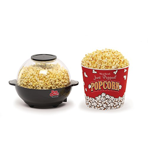Product Image 2: West Bend Popcorn Machine, Stir Crazy Black