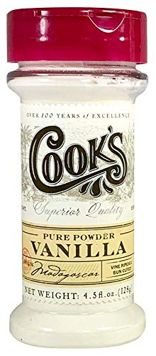 Cook's, Pure Vanilla Powder, World's Finest Gourmet Fresh Premium Vanilla, 4.5 oz