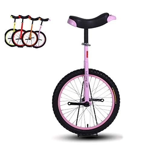 AHAI YU 16 '' / 18 '' Unicycles de Ruedas para niños/niña/para Principiantes de 9 a 15 años, Bicicleta Grande de 20 Pulgadas de una Rueda para Adultos/Mujeres/mamá, Mejor Regalo de cumpleaños