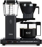 Moccamaster CD KBG 741 Select Kaffemaskin, 1520 W, Matt Svart
