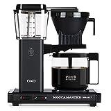 Moccamaster KBG Select Cafetera de filtro, 1520 W, 1.25 litros, Aluminio, negro mate