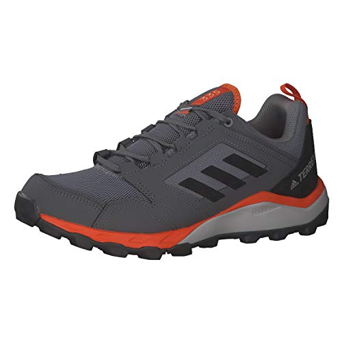 adidas Terrex Agravic TR, Zapatillas Deportivas para Hombre, Grey Three F17/CORE Black/Orange, 40.67 EU