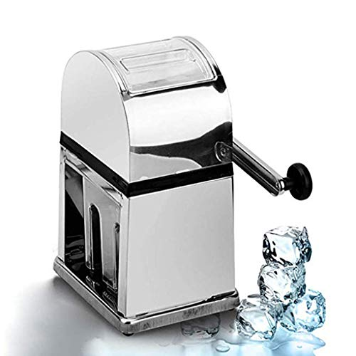DZWSD Home Easy Ice Shaver Crusher Handheld Handstyle Manuale Neve frantumazione Macchina per Il Ghiaccio