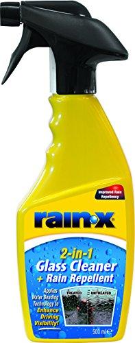 Rain-X 88199500 2in1 Glasreiniger + Regenabweiser, 500 ml