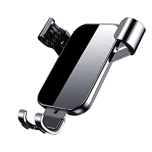 CROWNXZQ Montaje de automóviles, Soporte teléfono rápido sujeción, para automóvil, con Clip Metal, diseño fácil sujeción/liberación, Ultra Estable Compatible Todos los teléfonos móviles