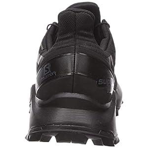 Salomon Women's Supercross GTX Trail Running Shoes, Black/Black/Black, 7