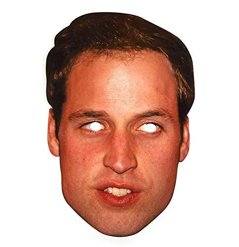 Prince William masque de fête