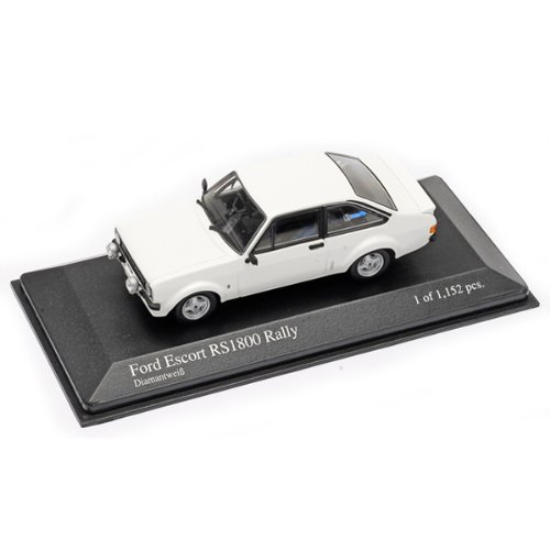 Minichamps DP 1/43 Ford Escort II RS 1800 Rally (White) (japan import)