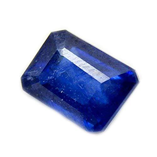 Natürlicher blauer Saphir-Edelstein 5 Carat Octagon Shape September Birthstone am Großhandelspreis-losen Stein