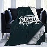 Blanket San Antonio Basketball Sp-urs Art blanket, fashionable custom soft blanket, flannel fleece blanket, super soft blanket, suitable for sofa, living room, camping, cold cinema or travel!