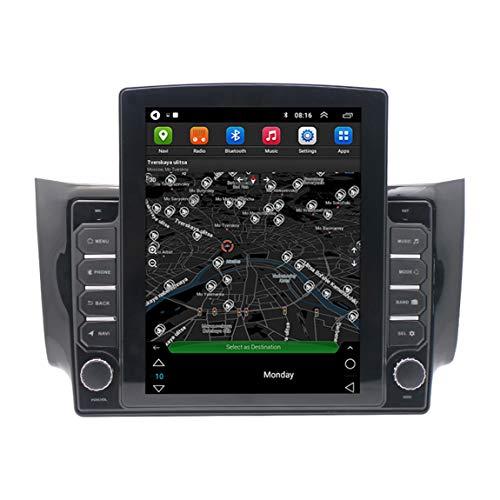 Dispositivo Navegador Satelital De 9.7 Pulgadas para Camión De Camiones De Coche, Actualizaciones De Tráfico En Vivo Y Cámara De Velocidad a Través De WiFi