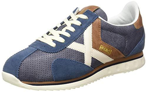 Munich SAPPORO 85, Zapatillas Adulto, Azul, 42 EU
