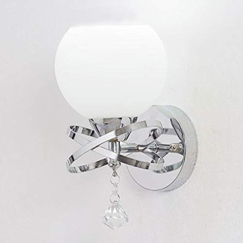 CXCF LED Ball Lights Glaswandleuchten für Innenwandbeleuchtung, Schlafzimmer, Wohnzimmer, Badezimmer