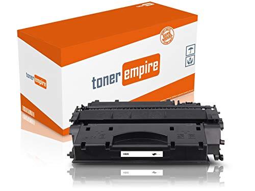 TE Premium toner zwart compatibel met HP CE505 voor HP Laserjet P2055D / P2055DN / P2055 X laserprinter (1) 1 x toner (CE505A).