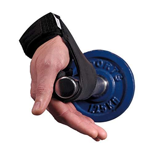 Chiba Trainingshilfe Power Grips, Schwarz, One Size, 40650 - 2