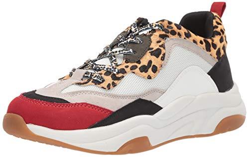 Steve Madden Men's Antonio Sneaker, Leopard, 8 M US