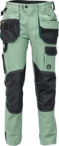 Dayboro Pantalones de Trabajo para Hombre - Ultra Cómodos - Elásticos y Duraderos con Bolsillos para Rodilleras - Verde 50