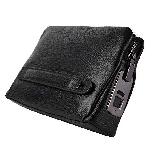 banapoy Cartera Inteligente, Conveniente, portátil, cómoda y Elegante Billetera para Huellas Dactilares, para cumpleaños de Navidad