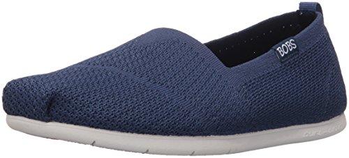 Skechers Bobs - zapatos planos acolchados para mujeres, personalizados, Azul (Marino), 7...