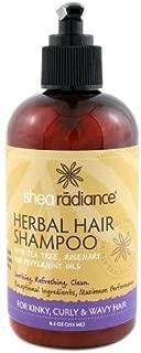 Shea Radiance Herbal Hair Shampoo 8.5oz
