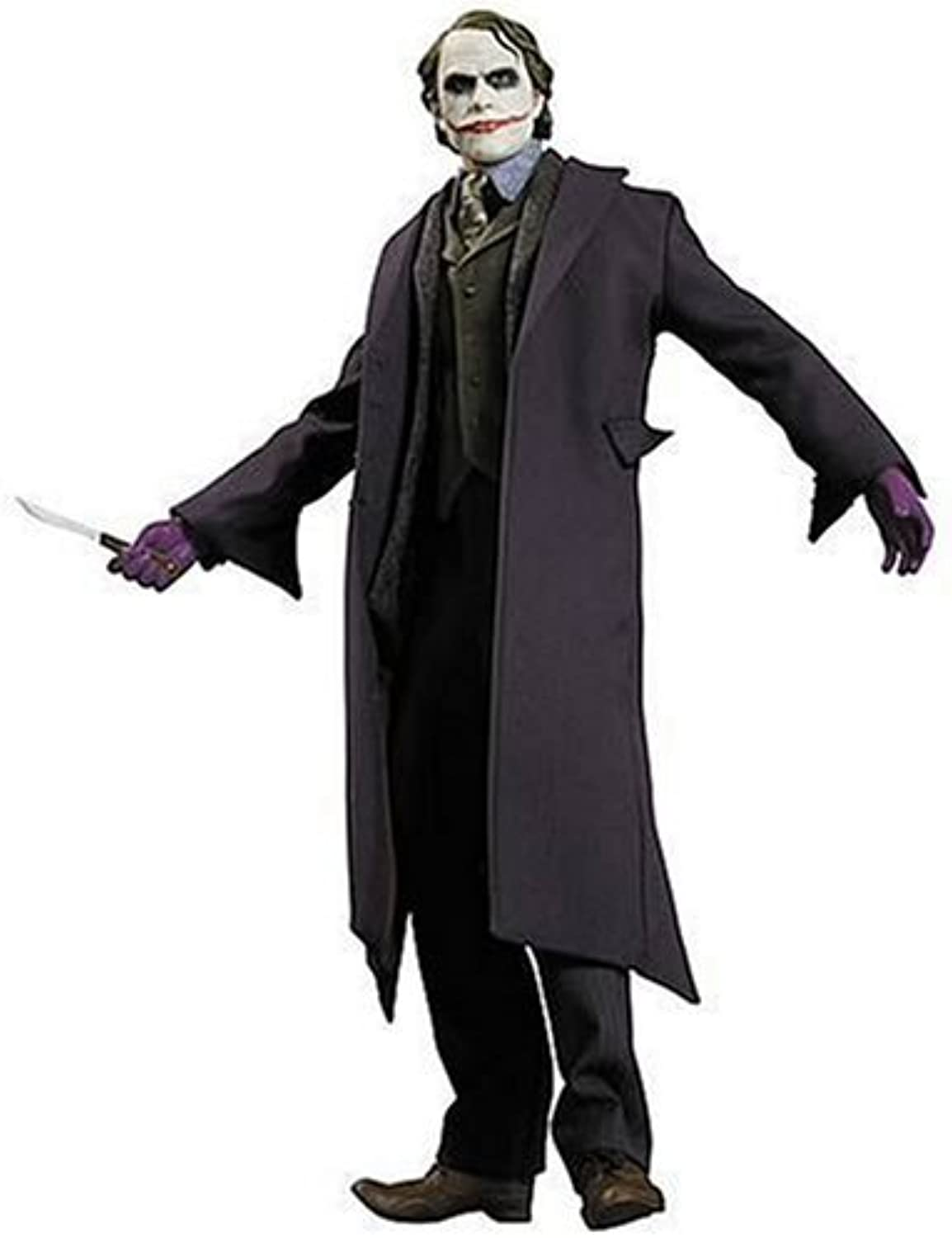 DC Comics THE Dark Knight Movie 1 6 Scale JOKER HEATH LEDGER Collector Action Figure Puppe by DC Direct 13 inch 1 6 - EXTREMELY RARE