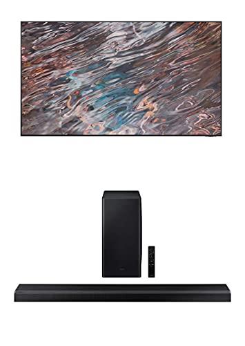 Samsung QN75QN800A 75' QN800A Series UHD Neo QLED 8K Smart TV with a Samsung HW-Q800A 3.1.2ch Black...