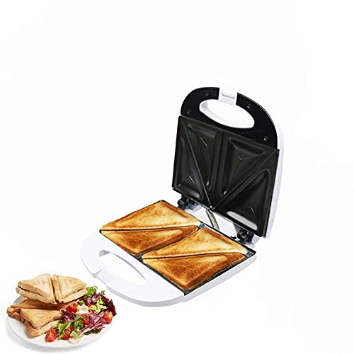 N\B Sandwich Toaster,Automatic Electric Baking Pan,Breakfast Machine,with Cool Touch Handle and Non-Stick Plate,Suitable for Cooks Delicious Crispy Sandwiches