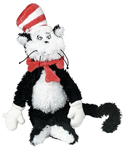 """Manhattan Toy Dr. Seuss Cat in the Hat 9"""" Soft Plush Toy"""