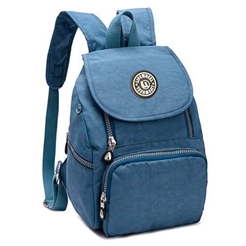 LifeWheel Nylon Casual Mini Backpack Waterproof Lightweight Small Daypacks for Womens Girls