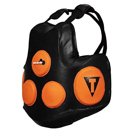 Title Boxing Ionic Strike Body Protector, Black/Orange