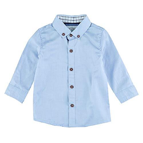 Feetje Chemise à manches longues chemise bébé vêtements bébé, bleu ciel