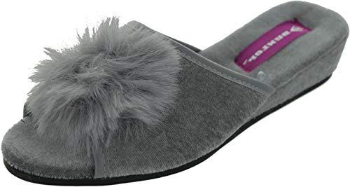 Dunlop Diana, Damen Clogs & Pantoletten Grau grau, Grau - grau - Größe: 41 EU