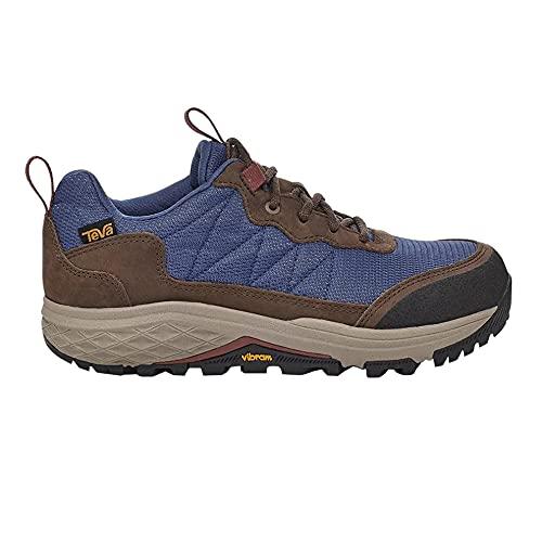 Teva Womens Ridgeview Lo Hiking Boot, Blue Indigo, Size 10.5