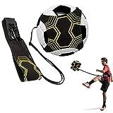 Fußball Kick Trainer, Fußballtrainingshilfe, Shands Solo-Trainingshilfe mit Gürtel und elastischem Seil, perfekt für die Verbesserung der Fußballfähigkeiten, fit für Bälle Größe # 3 # 4 # 5