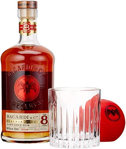 BACARDI RESERVA 8 ANOS Geschenkset Rum (1 x 0.7 l)