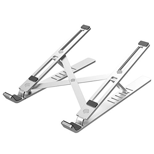 Licheers Adjustable Aluminum Notebook Stand  $12 at Amazon