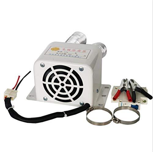 12 V Chauffage Ventilateur, MoreChioce 500 W Radiateur Ventilateur de Chauffage Électrique Portatif de Voiture Dégivreur de Pare-Brise avec 2 Sorties d'Air