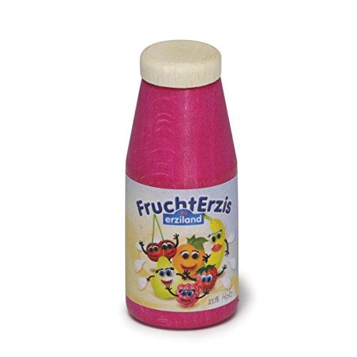 Erzi Pretend Play en bois épicerie Merchandize yaourt à boire 3.1 x 7.5 cm - version anglaise
