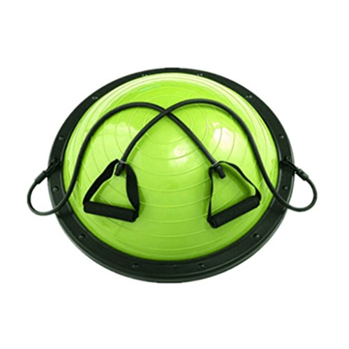 Best Price Lana Yoga Ball, Thickened Explosion-Proof Fitness Hemisphere Pilates Wave Speed Ball Bala...
