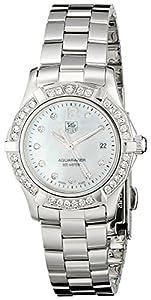 TAG Heuer Women's WAF1416.BA0824 Aquaracer Swiss-Quartz Diamond Mother-Of-Pearl Dial image