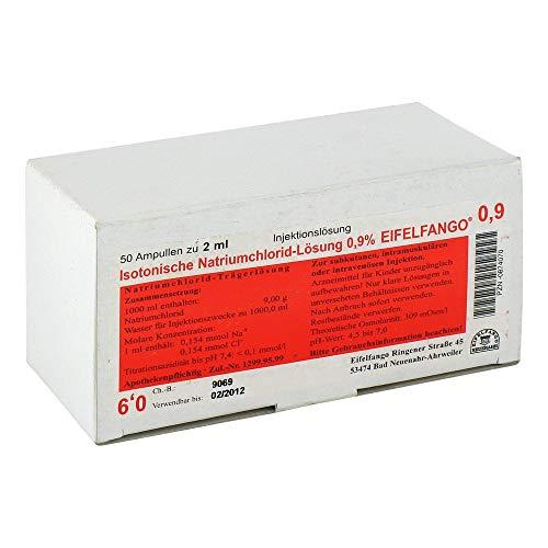 ISOTONISCHE NaCl Lösung 0,9% Eifelfango Inj 50X2 ml