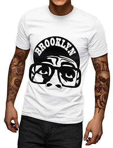 Brooklyn New York Hip Hop T-shirt for Men, S to XXL