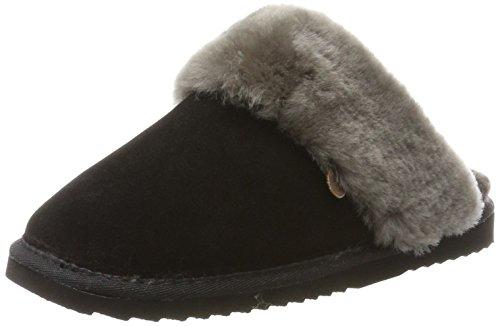 Warmbat Damen Flurry Pantoffeln, Schwarz (Black), 41 EU