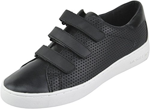 Michael Michael Kors Mujeres Craig Sneaker Piel Deportivos de Moda, Black, Talla 8