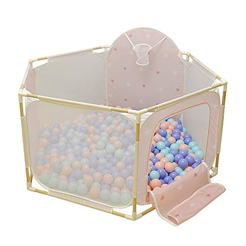 YYHSND Anti-Rollover Outdoor-Aktivitätszentrum for Kinder Robustes Spiel Paddock Sicherheit Indoor Baby Kind Marine Ball Pool Kinderschutz (Color : Style2)