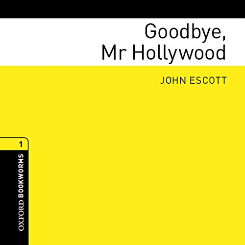 Goodbye, Mr Hollywood audiobook cover art