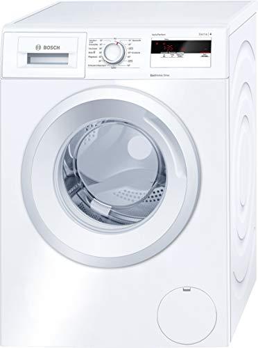 Bosch WAN28020 Serie 4 Waschmaschine Frontlader / A+++ / 137 kWh/Jahr / 1400 UpM / 6 kg / weiß / Nachlegefunktion / ActiveWater Mengenautomatik